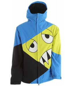 686 Snaggleface Snowboard Jacket Blue