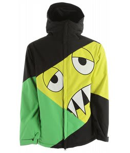 686 Snaggleface Snowboard Jacket Grass