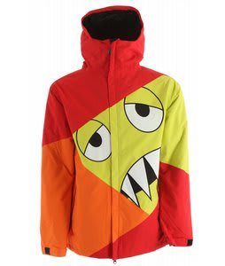 686 Snaggleface Snowboard Jacket Red