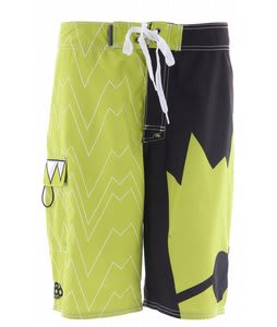 686 Snaggle Tooth Boardshorts Black