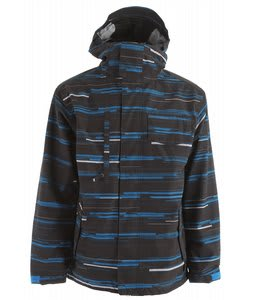 686 Static Snowboard Jacket Black Streak