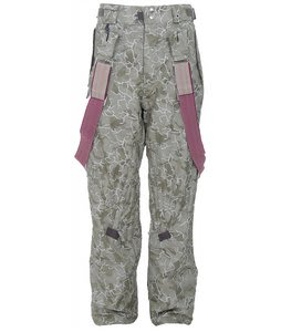 686 Acc Syndicate Insulated Snowboard Pants Army Camo Jacquard Mens