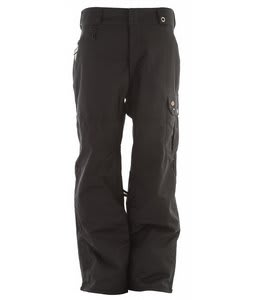 686 Times Dickies Double Knee Insulated Snowboard Pants Black