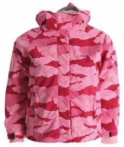 686 Smarty Yumiko Girls Snowboard Jacket Rose Patchwork Kids