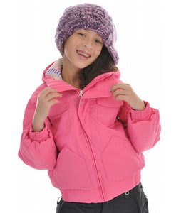 Burton Mini Lavish Bomber Snowboard Jacket Rock N Rose