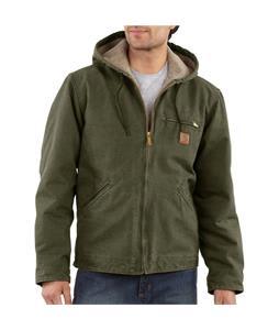 Carhartt Sandstone Sierra-Sherpa Lines Jacket