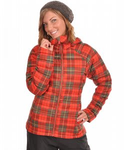 Burton Ak Baker Insulated Snowboard Jacket Yarn Dye Plaid