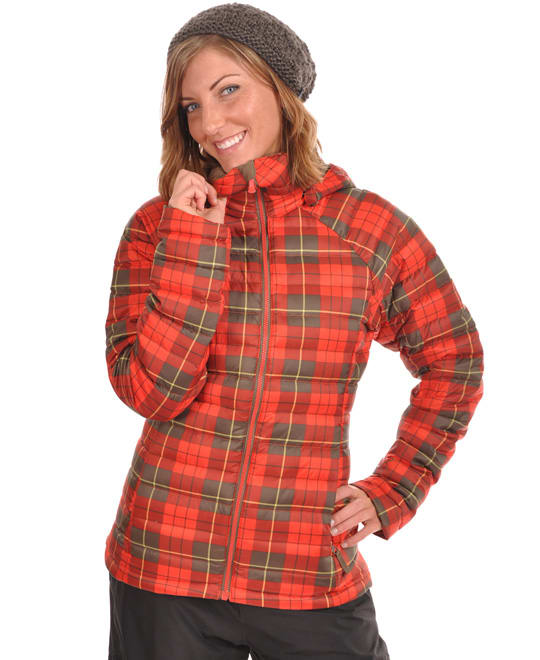 Shop for Burton Ak Baker Insulated Snowboard Jacket Yarn Dye Plaid - Women's