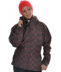 686 Smarty Atrium Snowboard Jacket Gunmetal Print