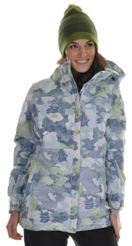 686 Acc Empire Insulated Snowboard Jacket Sky Print