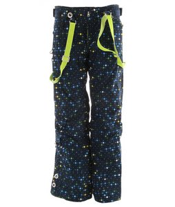 686 Acc Stiletto Insulated Snowboard Pants Navy Print