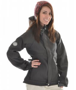 686 Plexus Quest Softshell Snowboard Jacket Gunmetal