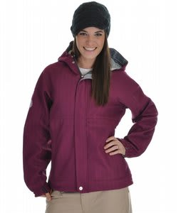 686 Plexus Quest Softshell Snowboard Jacket Orchid