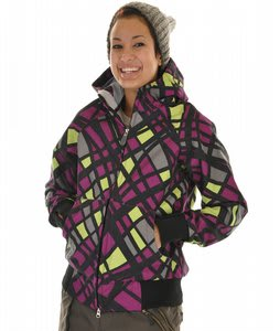 686 Plexus Oasis Softshell Snowboard Jacket Orchid