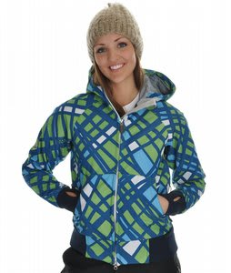 686 Plexus Oasis Softshell Snowboard Jacket Lime