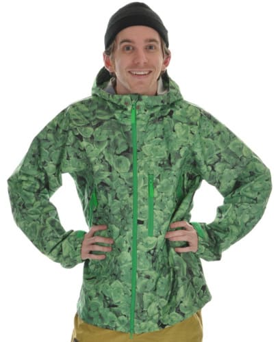 Burton Idiom Continuum 2.5L Snowboard Jacket False Lily Print