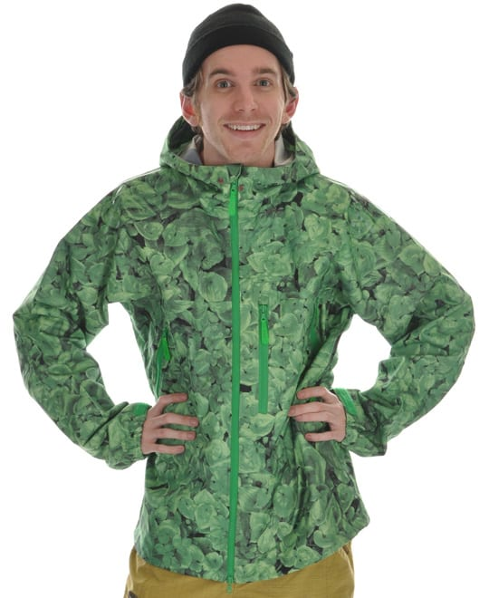 Shop for Burton Idiom Continuum 2.5L Snowboard Jacket False Lily Print - Men's