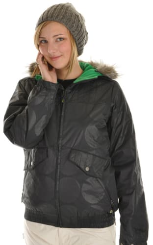 Burton Mp3 Commuter Snowboard Jacket True Black Emboss