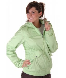 Burton Mp3 Commuter Snowboard Jacket Green Grass