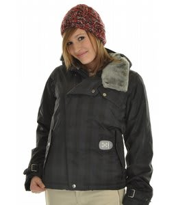 Burton Ipod Dutchess Snowboard Jacket True Black Gingham