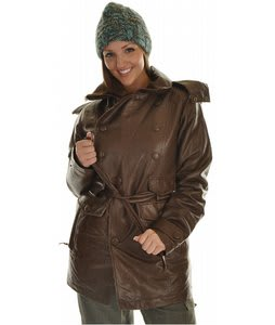 Burton B By Burton Precious Trench Snowboard Jacket Chestnut