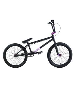 Academy Aspire BMX Bike Matte Black/Red 20in