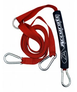 Accurate Nylon Webbing Boat Tow Harness Red