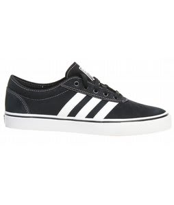 Adidas Adi Ease Skate Shoes Black/White/Black
