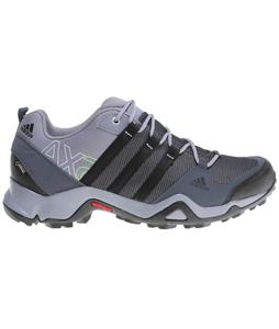 Adidas AX2 Gore-Tex Hiking Shoes Dark Onix/Black/Semi Solar Green