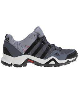 Adidas Ax 2 Hiking Shoes Lead/Black/Light Scarlet