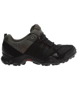 Adidas AX2 Hiking Shoes Earth Green/Black/Power Red