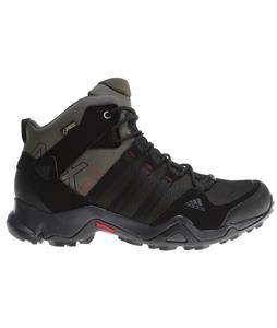 Adidas AX2 Mid Gore-Tex Hiking Boots Earth Green/Black/Earth Green