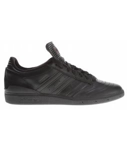 Adidas Busenitz Pro Skate Shoes Black/Black/Dark Cinder
