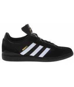 Adidas Busenitz Pro Skate Shoes Black/Running White/Black