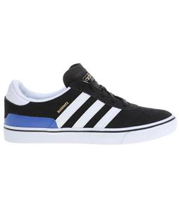 Adidas Busenitz Vulc Shoes Core Black/White/Collegiate Royal