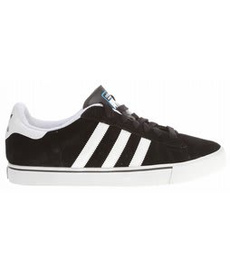 Adidas Campus Vulc Skate Shoes Black/Run White/Pool