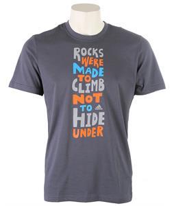 Adidas Edo Slogan T-Shirt Dark Onix