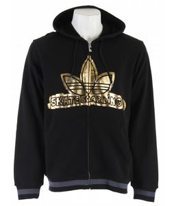 Adidas Gonz Logo Hoodie Black Heather