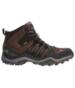 Adidas Kumacross Mid Gtx Leather Hiking Boots Espresso/Black/Dark Brown