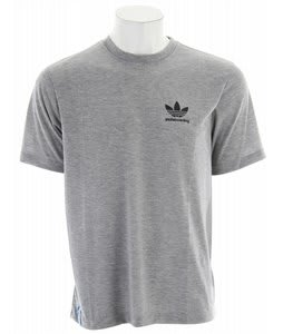 Adidas Logo T-Shirt Medium Grey Heather