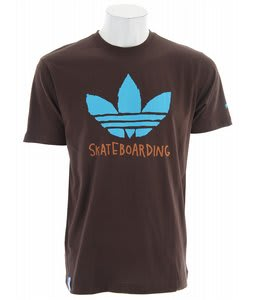 Adidas Roger Graphic T-Shirt Mustang Brown
