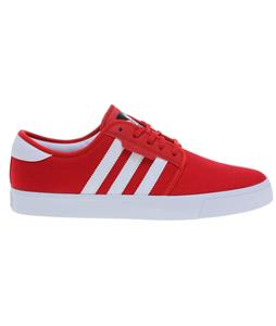 Adidas Seeley Skate Shoes Light Scarlet/White/Black