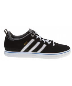 Adidas Silas Pro II Skate Shoes Black/White/Bluebird