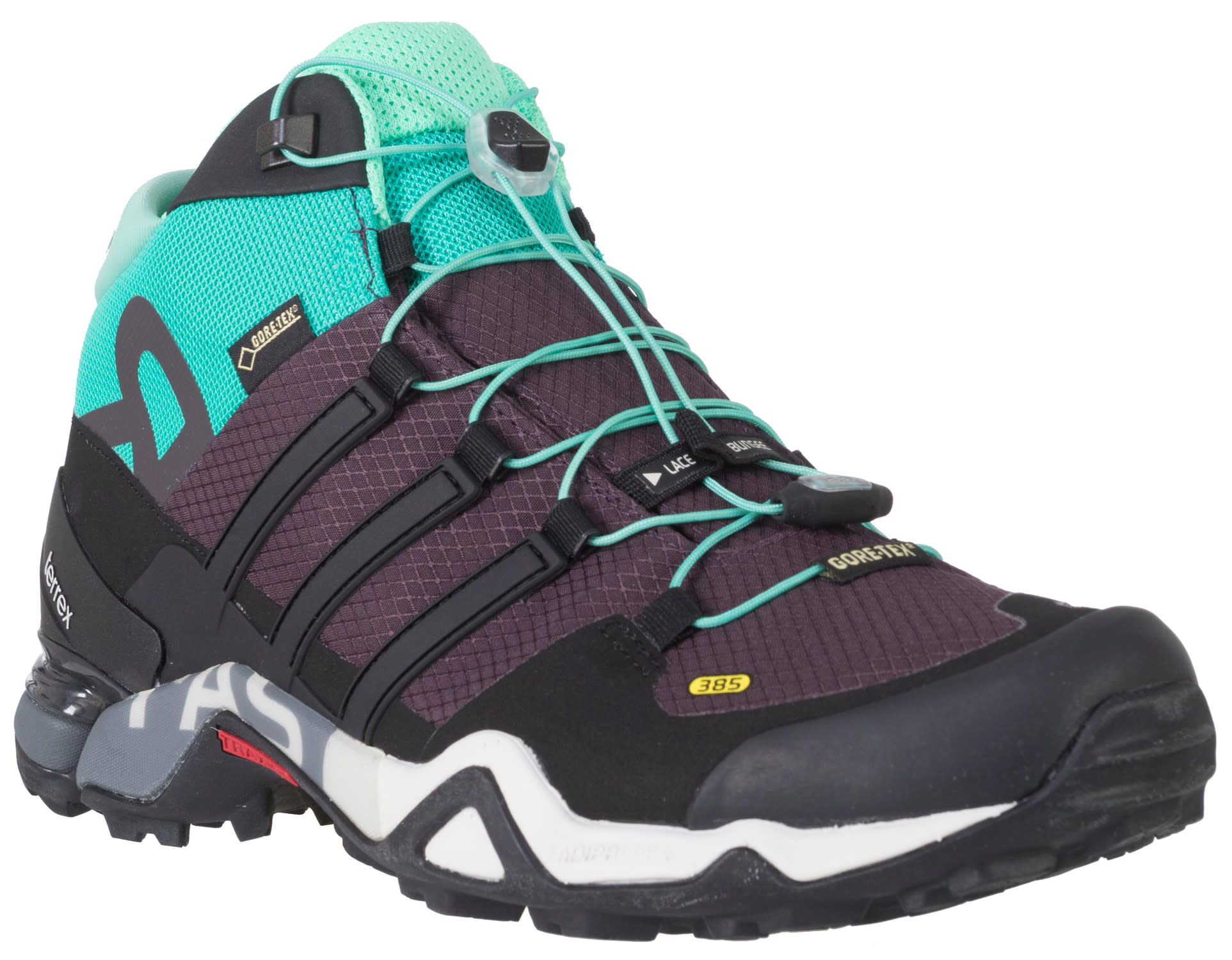 on sale adidas terrex fast r mid gtx hiking shoes womens up to 45 off. Black Bedroom Furniture Sets. Home Design Ideas