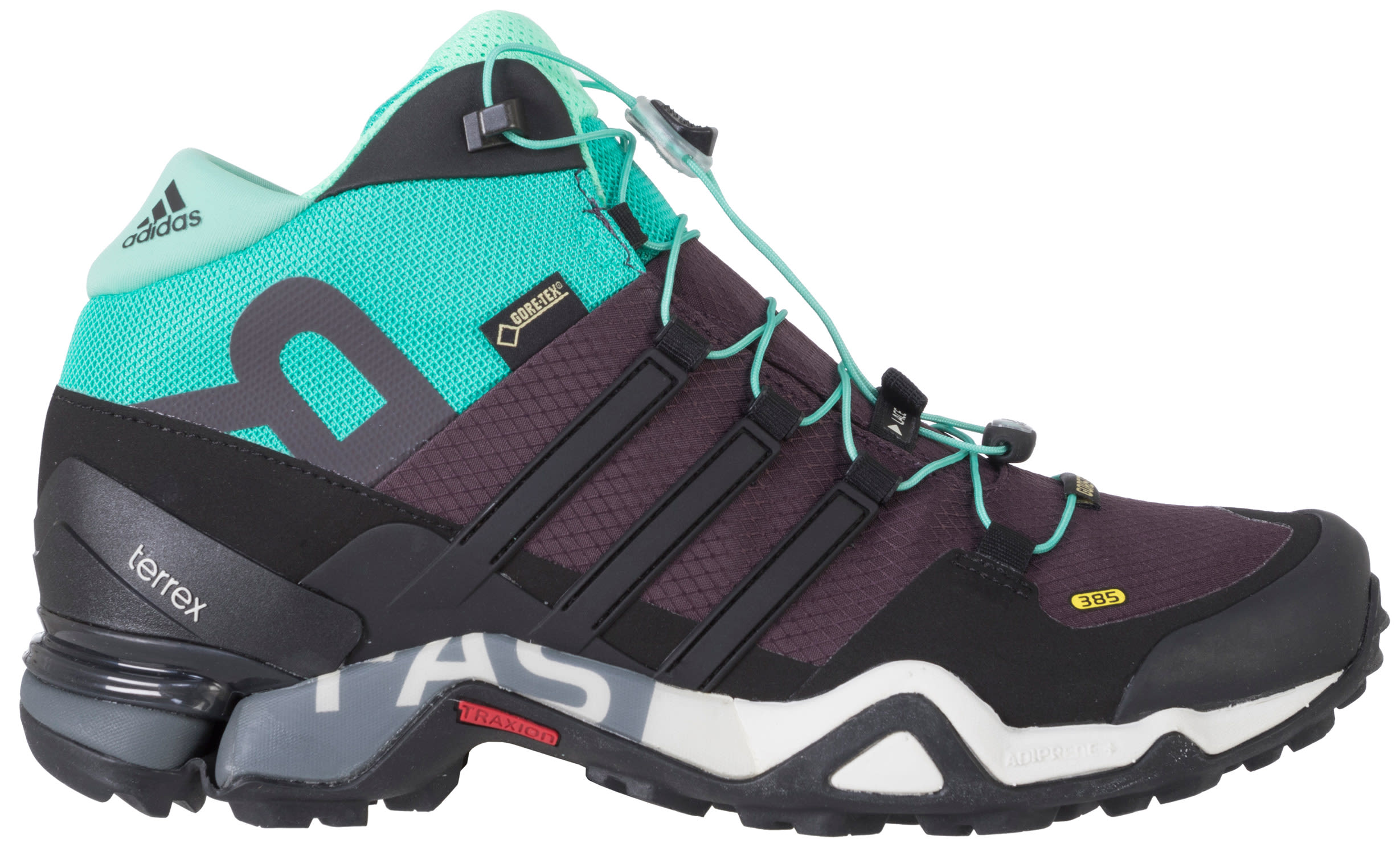 on sale adidas terrex fast r mid gtx hiking shoes womens. Black Bedroom Furniture Sets. Home Design Ideas