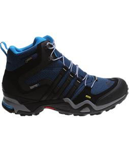 Adidas Terrex Fast X High GTX Hiking Shoes Rich Blue/Black/Solar Blue