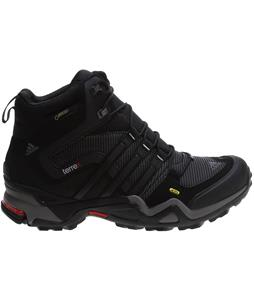 Adidas Terrex Fast X High GTX Hiking Shoes Carbon/Black/Scarlet