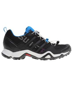 Adidas Terrex Swift R Hiking Shoes Black/Black/Dark Solar Blue