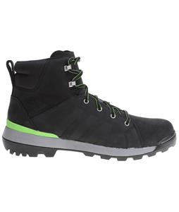 Adidas Trail Cruiser Mid Hiking Boots Black/Semi Solar Green