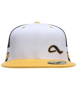 Adio Steele Custom Flexfit Hat White/Black/Gold